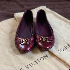 Louis Vuitton Oxford Flat Ballerina Shoes